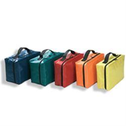 BORSETTA / ASTUCCIO BORSINA in nylon con maniglia - 27x14xh.8cm - vari colori