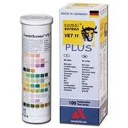 TEST URINE / STRISCE URINE VETERINARIA - 11 parametri - solo uso professionale - flacone conf.100pz