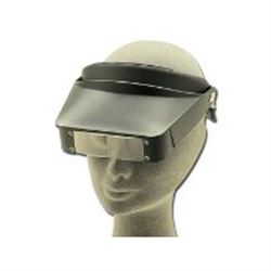 CASCO OCCHIALE INGRANDITORE HEAD LOUPE - ingrandimento 2,2X -3,3X