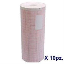 CARTA ECG PER DEFIBRILLATORE PHYSIOCONTROL Lifepack 11/12/15 - Conf.10pz
