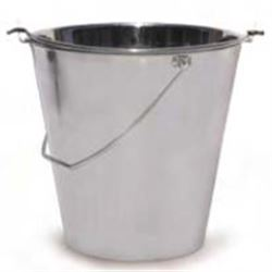 CATINO PER GESSO in acciaio inox - Ø280xh.260mm - capacità 10lt