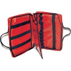 BORSETTA / AMPOLLARIO ASTUCCIO PORTAFIALE in cordura - 29x22xh.7cm - (x9fiale/ampolle) - rosso