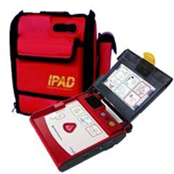 DEFIBRILLATORE DAE SEMIAUTOMATICO I-PAD NF1200 borsa di trasporto in omaggio