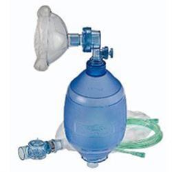 PALLONE DI VENTILAZIONE MONOUSO ADULTO OB COMPLETO +  Maschera n.5 - Reservoir - Tubo ossigeno