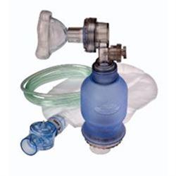PALLONE DI VENTILAZIONE MONOUSO NEONATALE OB COMPLETO + Maschera n.1- Reservoir - Tubo ossigeno