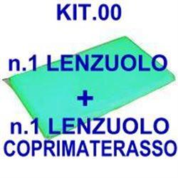 """KIT """"00"""" PER BARELLA = n.1 LENZUOLO + n.1 LENZUOLO COPRIMATERASSO"""
