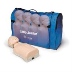 MANICHINO CPR LITTLE JUNIOR con borsa - conf.4pz