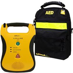 BORSA CUSTODIA TRASPORTO DEFIBRILLATORE DEFIBTECH LIFELINE AED - morbida
