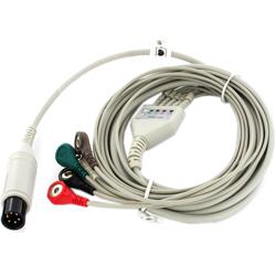 CAVO ECG 5 TERMINAZIONI per monitor Vital Sign e PC-3000 - ricambio