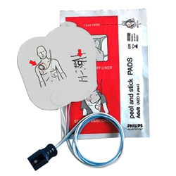 ELETTRODI / PLACCHE MONOUSO ADULTI ORIGINALI per defibrillatore PHILIPS FR/FR2