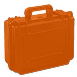 VALIGIA CERTIFICATA IP67 SOLIDA E RESISTENTE - media - 43x29xh.16cm - arancione