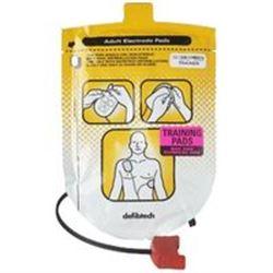 COPPIA PIASTRE ELETTRODI DIDATTICI TRAINER per addestramento per DEFIBTECH LIFELINE AED - adulto