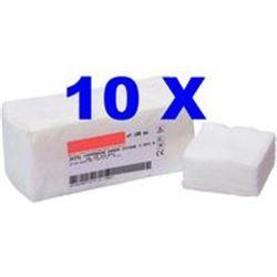 GARZA IN COTONE NON STERILE 12strati - 7,5x7,5cm - conf.1000pz (10x100pz)