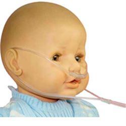 OCCHIALE PER OSSIGENOTERAPIA / CANNULA NASALE pediatrica