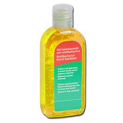 GEL IGIENIZZANTE MANI ANTIBATTERICO 85ml - giallo limone