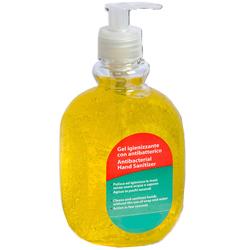GEL IGIENIZZANTE MANI ANTIBATTERICO - limone - 500ml