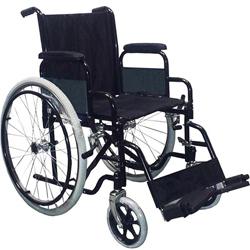 SEDIA A ROTELLE / CARROZZINA PIEGHEVOLE AD AUTOSPINTA EVOLUTION - bracciolo desk - ruote pneumatiche