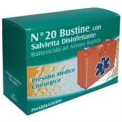 SALVIETTE DISINFETTANTI IN BUSTINA PHARMADERM - conf.20pz.
