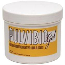 PULVIBIO GEL - polvere assorbente gelificante per liquidi - barattolo 400gr
