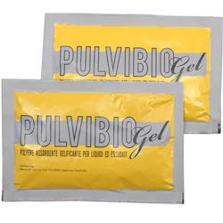 PULVIBIO GEL - BUSTINA 50gr - polvere assorbente gelificante per liquidi