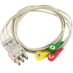 CONNETTORI SNAP A BOTTONE 3 DERIVAZIONI - per monitor BM3-BM5