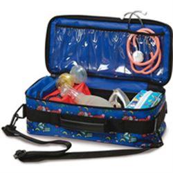 BORSA EMERGENZA SOCCORSO BABY BAG - 40x13xh.18cm - vuota - pediatrica - colore fantasia