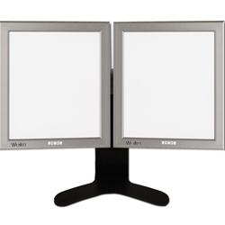 NEGATIVOSCOPIO ULTRAPIATTO DA TAVOLO LED - 42x72cm (doppio)