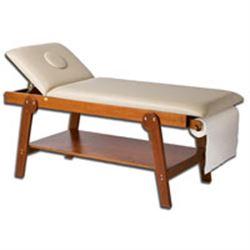 Lettino Da Massaggio In Legno.Lettino Da Massaggio 18 Posizioni Firenze Con Portarotolo E Foro