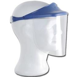 VISIERA SCHERMO PROTETTIVO - sovrapponibile - schermo antiappannante + maschera rotazione 90°