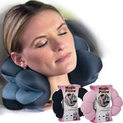 CUSCINO CERVICALE COLLO SCHIENA GAMBE MAGIC TOTAL PILLOW - 5 in 1 - multiuso, poliforme, anatomico