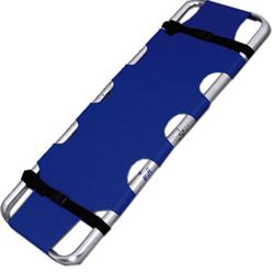 BARELLA PIEGHEVOLE IN 2 PARTI - 188x45xh.7cm - peso 4kg - portata 150kg - blu