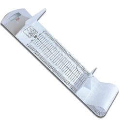 ALTIMETRO MISURATORE STATURA NEONATI PORTATILE SECA - 30x14x134cm - range misurazione 10/99cm