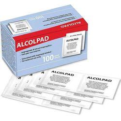 TAMPONI IMBEVUTI DI ALCOL - ALCOMED PADS - conf.100pz