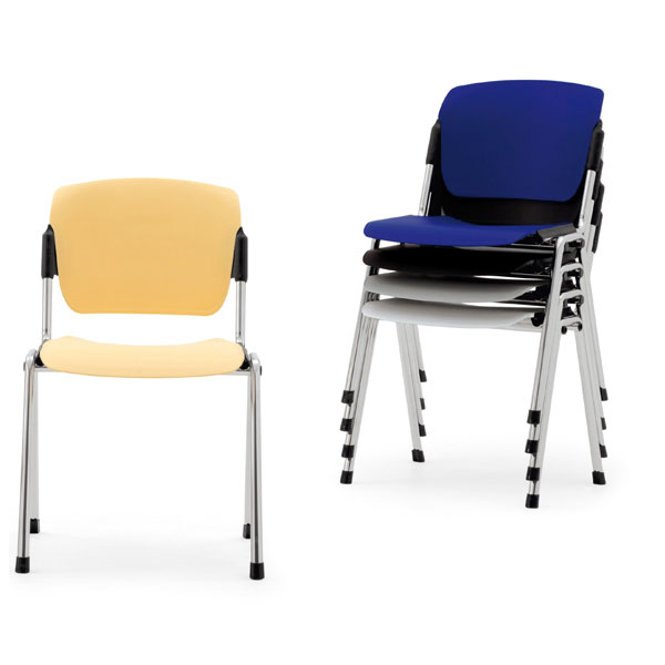 SEDIA AMBULATORIO IMPILABILE struttura in acciaio - seduta ...