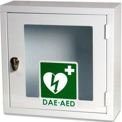 ARMADIETTO TECA PER DEFIBRILLATORI - 42,5x16xh.42,5cm - uso interno