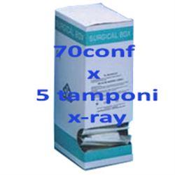 TAMPONI DI COTONE STERILI - 5x5cm - x-ray - conf.350pz