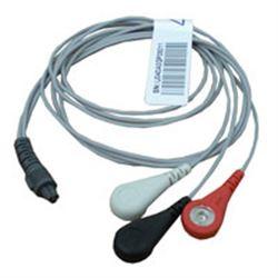 CAVO ECG A 3 DERIVAZIONI - 3pin - per CARDIO A/B  e monitor PC-300