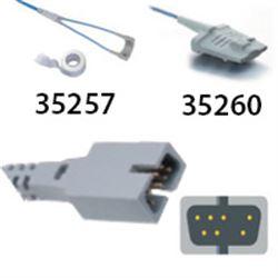 SENSORE DA DITO compatibile Nellcor - soft / fascia - lung. cavo 0,9m