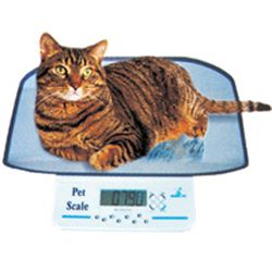 BILANCIA VETERINARIA PER ANIMALI DOMESTICI DIGITALE CON DISPLAY LCD - portata 20kg