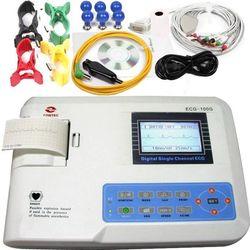 ELETTROCARDIOGRAFO ECG CONTEC 100G - 12 DERIVAZIONI - monocanale - display LCD