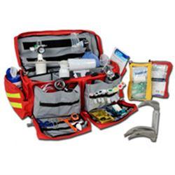 BORSA EMERGENZA SOCCORSO DOCTOR 7 + kit pronto soccorso - 55x35xh.35cm - piena