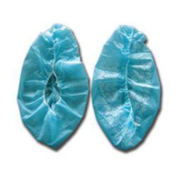 CALZARI COPRISCARPE / SOVRASCARPA MONOUSO IN PPSB con fascia elastica - azzurro - conf.100pz