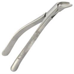 STRUMENTO ODONTOIATRICO PERIODONZIA PINZA PER ESTRAZIONE - denti e radici inferiori - in acciaio inox