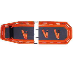 BARELLA BASKET - divisibile trasversalmente - 215x64xh.19cm - peso 17kg - portata 278kg - arancione