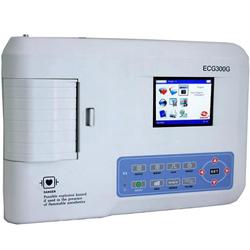 ELETTROCARDIOGRAFO ECG CONTEC 300G - 12 DERIVAZIONI - 3 canali - con display
