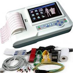 """ELETTROCARDIOGRAFO ECG CONTEC 600G - 12 derivazioni - 3/6 canali interpretativo - touch screen 7"""""""