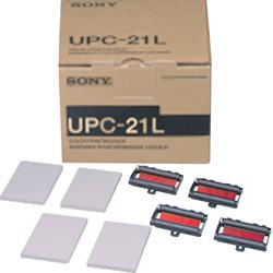 CARTA ECOGRAFICA SONY UPC-21 L - conf. 200fogli e 4 cartucce di stampa