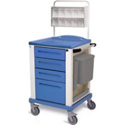 CARRELLO MEDICAZIONE - small - blu