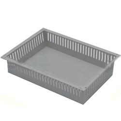 CESTELLO PLASTICA  PER CARRELLO DI SERVIZIO ISO - 60x40x10cm