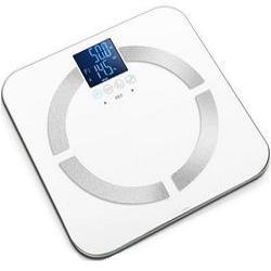 BILANCIA PESAPERSONE DIGITALE MULTIFUNZIONE CON CALCOLO BMI - portata 150kg - 8 memorie - bianca o nera